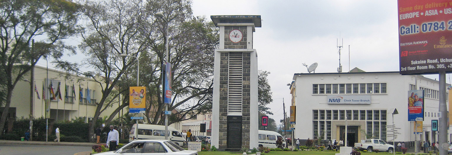 Arusha, clcok tower