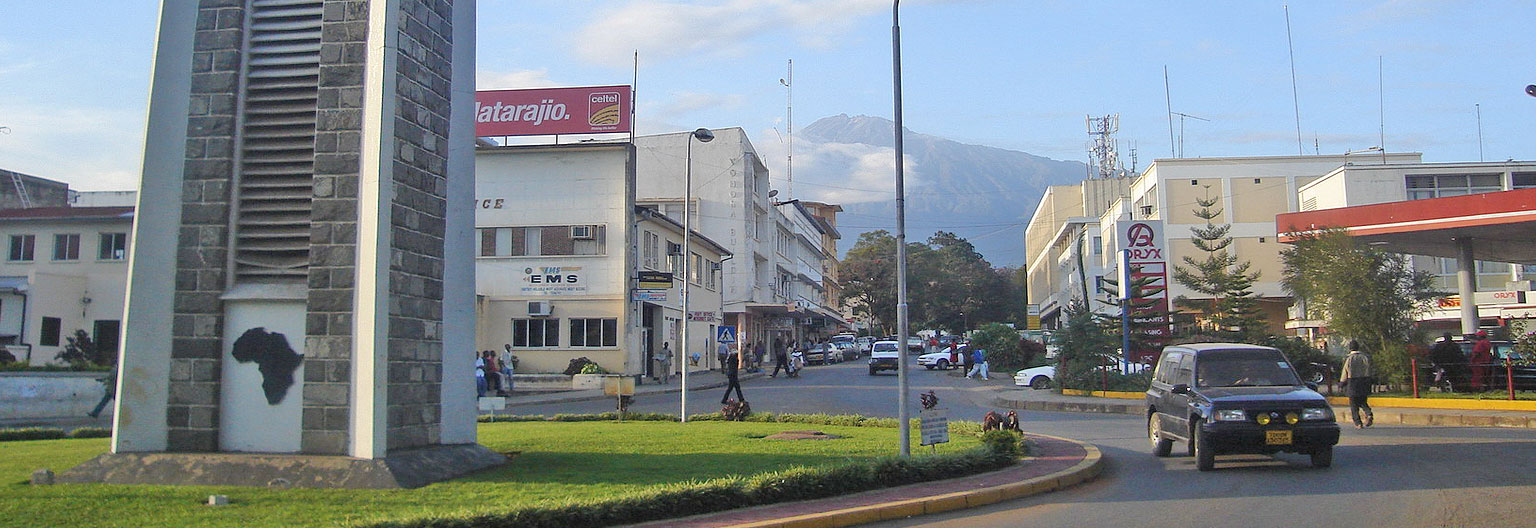Arusha, with mount Meru view