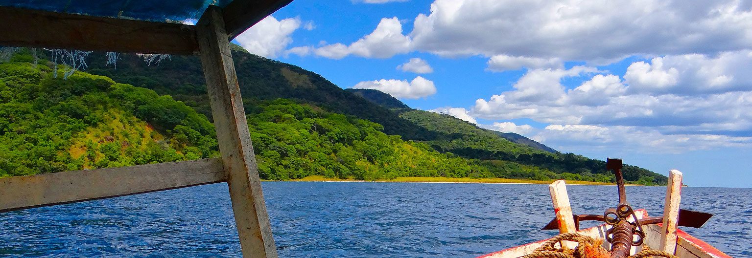 Gombe National Park, View from Lake Tanganyika