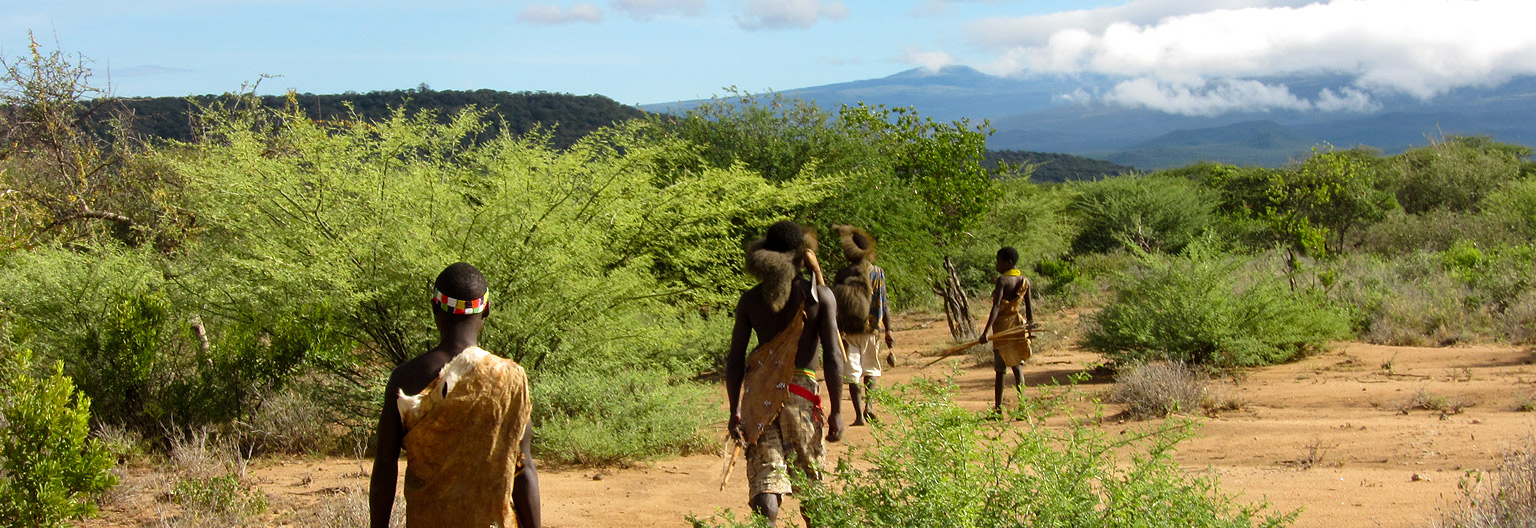 The Hadza, people of lake Eyasi